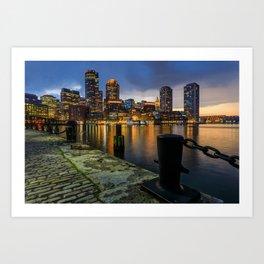 Boston, Massachusetts 3 Art Print