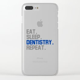 Dentistry Clear iPhone Case
