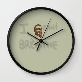 Justice for George Floyd  Wall Clock