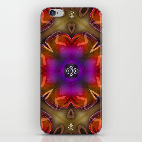 Mandala 8 iPhone & iPod Skin