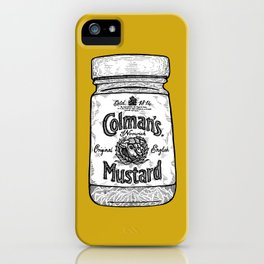 The King of Condiments iPhone Case