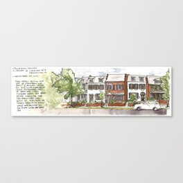 ROWhouse Canvas Print