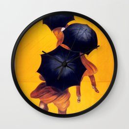 Poster vintage french Parapluie Revel Wall Clock