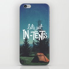 Let's Get In-Tents iPhone & iPod Skin