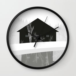 winter hope Wall Clock
