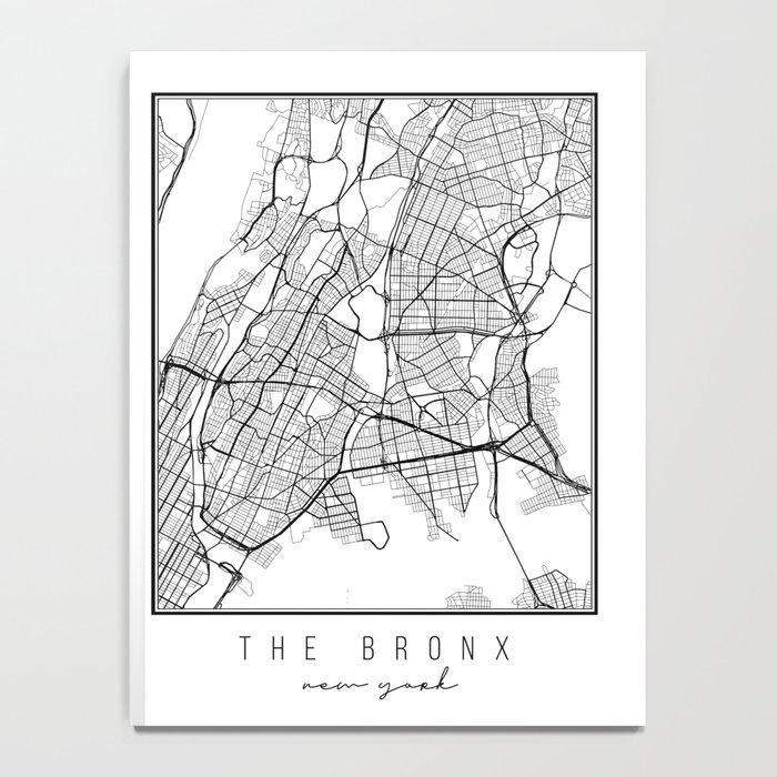 The Bronx New York Street Map Notebook