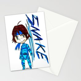 MGS - Snake Stationery Cards