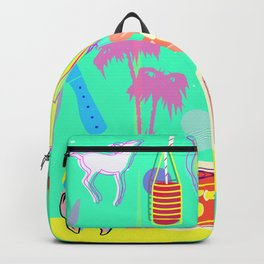 1950's Collage Backpack