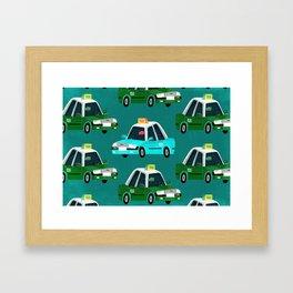 Lantau Taxi Framed Art Print