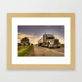 The Big Rig  Framed Art Print
