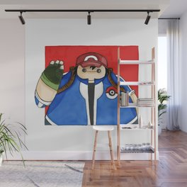 What if Baymax was Ash (color) Wall Mural