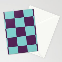 Checker Patchwork Lares Stationery Cards