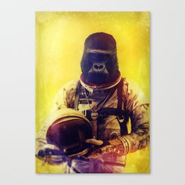 Back To The I'm From The Future Canvas Print