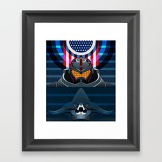 Pacific Rim, Jaws edition Framed Art Print