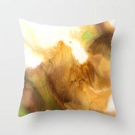 Abstract Acrylic Painting FANTASY Throw Pillow