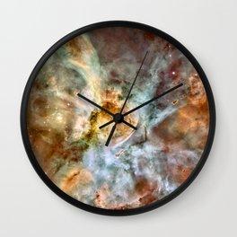 Carina Nebula, Star Birth in the Extreme - High Quality Image Wall Clock