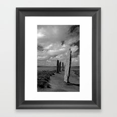 Ring of Brodgar Framed Art Print