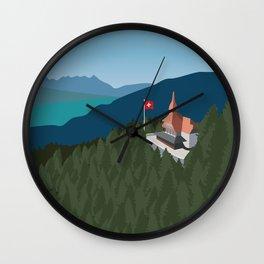 Switzerland Graphic Wall Clock