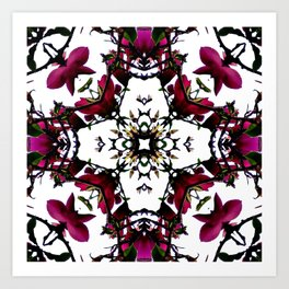 Thorny Issue Abstract Pattern Art Print