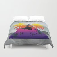freedom Duvet Covers featuring freedom by mark ashkenazi