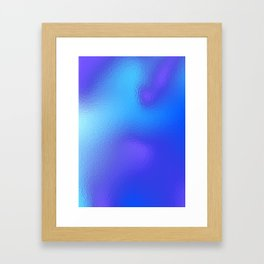 Under the ice Framed Art Print