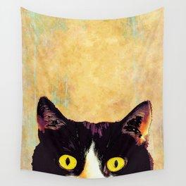 hidden cat 1 Wall Tapestry