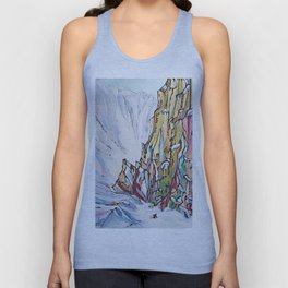 Crushin' Couloirs Unisex Tank Top