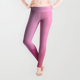 Triangles design in soft pink colors Leggings