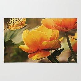 Flower Art - 2 Rug