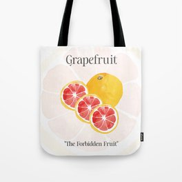 The Glorious Greatness of Grapefruit Tote Bag