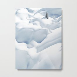 62. 50 shades of white, France Metal Print