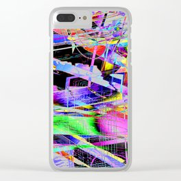 Don't Go Outside ! Clear iPhone Case