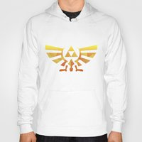 triforce Hoodies featuring Triforce by Wicttor