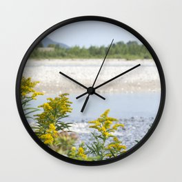 River banks Wall Clock