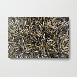 Casings Metal Print