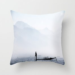This is Myanmar Throw Pillow