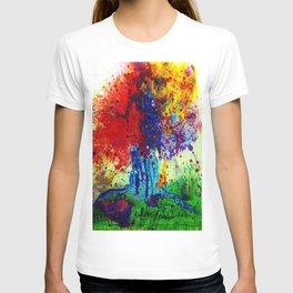 prism tree T-shirt
