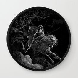 Death on the Pale Horse resized - Dore Wall Clock