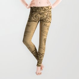 Shakespeare. Much adoe about nothing, 1600 Leggings
