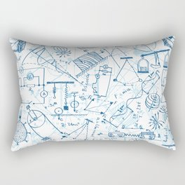 School chemical #4 Rectangular Pillow