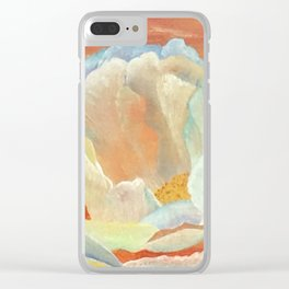 Flower Love Clear iPhone Case