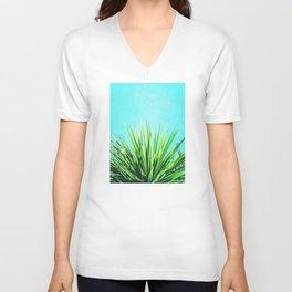 Solar Yucca Palm Unisex V-Neck