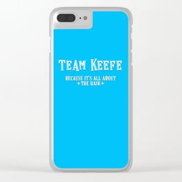 Team Keefe Clear iPhone Case