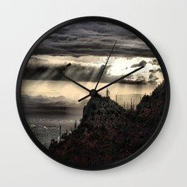 Silver Lining Wall Clock