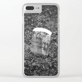 Sanatorium Hill 4 Clear iPhone Case