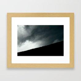 Elk Fugue Framed Art Print