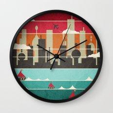 City Life Wall Clock