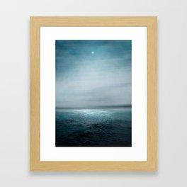 Sea Under Moonlight Framed Art Print