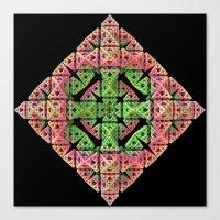 diamond Canvas Prints featuring Diamond by Lyle Hatch