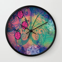 TheLadybugs Wall Clock